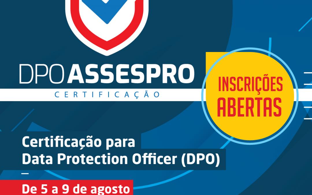 ASSESPRO LANÇA CERTIFICAÇÃO PIONEIRA PARA DPO