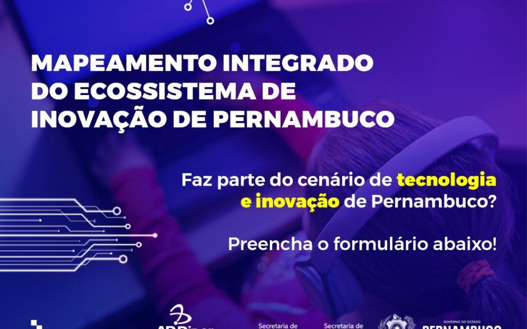 Mapeamento Integrado do Ecossistema de Inovação de Pernambuco